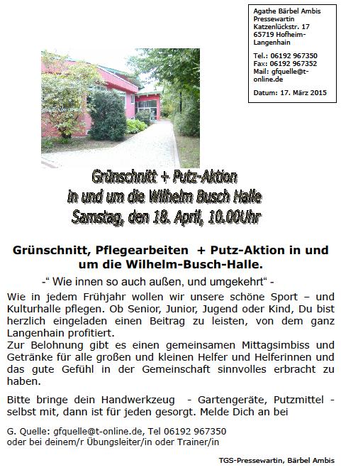 Das Internet-Portal für Hofheim-Langenhain - Aktuell